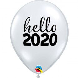 "SIMPLY HELLO 2020 11"" DIAMOND CLEAR (25CT)"