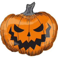 "HALLOW'S EVE PUMPKIN SHAPE P35 PKT (29"" X 27"")"