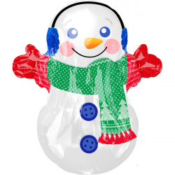ADORABLE SNOWMAN JUNIOR SHAPE S50 PKT