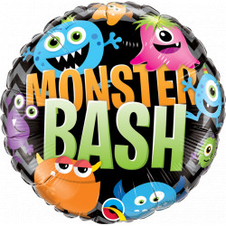 "MONSTER BASH CHEVRON 18"" PKT"