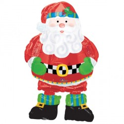 WHIMSICAL SANTA AIRWALKER P75 PKT (5 PACK)