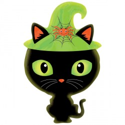 BLACK KITTY JUNIOR SHAPE S40 PKT