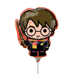 HARRY POTTER MINI SHAPE A30 INFLATED WITH CUP & STICK