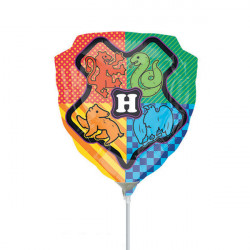 HARRY POTTER CREST SHAPE A30 INFLATED WITH CUP & STICK