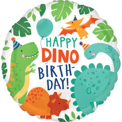 DINOMITE PARTY BIRTHDAY STANDARD S40 PKT