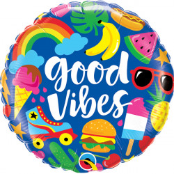 "GOOD VIBES 18"" PKT"