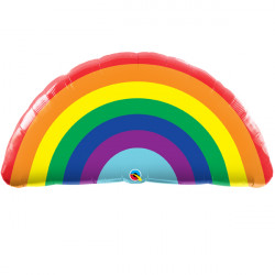 "BRIGHT RAINBOW 36"" SHAPE GROUP C PKT"