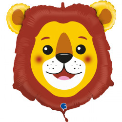 "LION HEAD 29"" SHAPE C PKT"