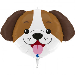 "DOG HEAD 29"" SHAPE C PKT"