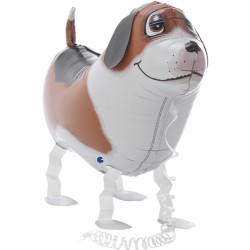 "BOBBY THE DOG WALKING PET 25"" SHAPE G PKT"