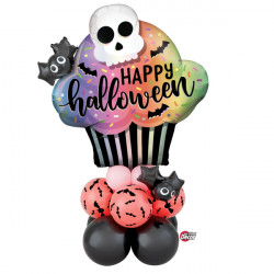 * HALLOWEEN CUPCAKE AIRFILLED DISPLAY
