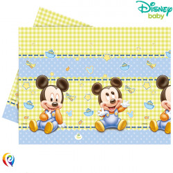 BABY MICKEY MOUSE TABLE COVER 120cmx180cm (8CT X 6 PACKS)