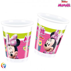 MINNIE MOUSE PLASTIC CUPS 200ml (8CT X 6 PACKS)