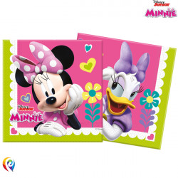 MINNIE MOUSE NAPKINS 33cm (8CT X 6 PACKS)