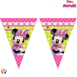 MINNIE MOUSE TRIANGLE 9 FLAG BANNER (8CT X 6 PACKS)