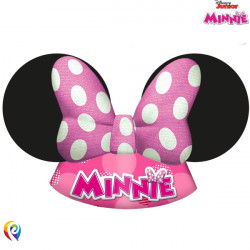 MINNIE MOUSE PAPER PARTY HAT (6CT X 6 PACKS)