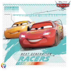 DISNEY CARS HIGH SPEED NAPKINS 2-PLY 33cm (20CT X 6 PACKS)
