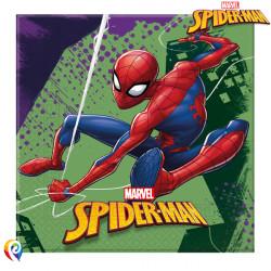 SPIDER-MAN TEAM UP NAPKINS 2-PLY 33cm (20CT X 6 PACKS)