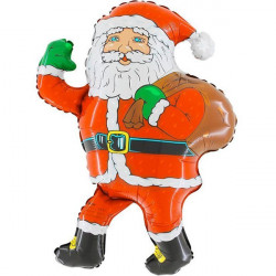 SANTA WALKING GRABO SHAPE FLAT