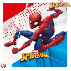 SPIDER-MAN SUPER HERO NAPKINS 2-PLY 33cm (20CT X 6 PACKS)