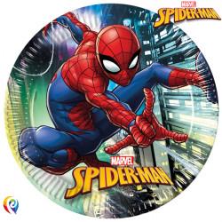 SPIDER-MAN TEAM UP PAPER PLATES LARGE 23cm (8CT X 6 PACKS)