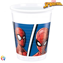 SPIDER-MAN TEAM UP PLASTIC CUPS 200ml (8CT X 6 PACKS)