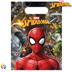 SPIDER-MAN TEAM UP PARTY BAGS (6CT X 6 PACKS)