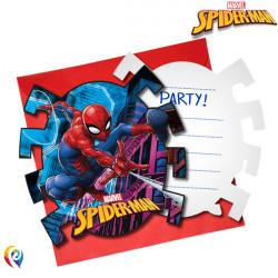 SPIDER-MAN TEAM UP INVITATIONS & ENVELOPES (6CT X 6 PACKS)