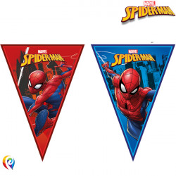 SPIDER-MAN TEAM UP TRIANGLE 9 FLAG BANNER (1CT X 6 PACKS)