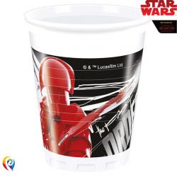 STAR WARS THE LAST JEDI PLASTIC CUPS (8CT X 6 PACKS)