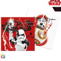 STAR WARS THE LAST JEDI  NAPKINS 2-PLY (20CT X 6 PACKS)