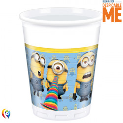 MINIONS PLASTIC CUPS 200ml (8CT X 6 PACKS)