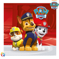 PAW PATROL NAPKINS (20CT X 6 PACKS)