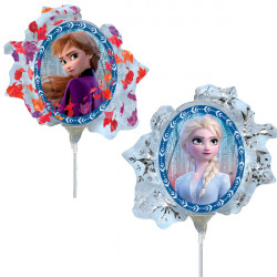 FROZEN 2 MINI SHAPE A30 INFLATED WITH CUP & STICK