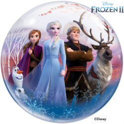"DISNEY FROZEN  22"" SINGLE BUBBLE"