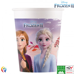 DISNEY FROZEN 2 COMPOSTABLE PAPER CUPS 200ml (8CT X 6 PACKS)