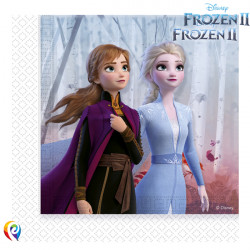 DISNEY FROZEN 2 NAPKINS 2-PLY 33cm (20CT X 6 PACKS)