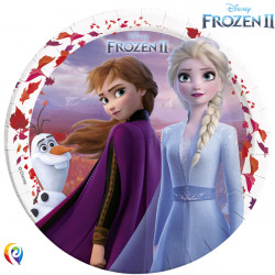 DISNEY FROZEN 2 PAPER PLATES LARGE 23cm (8CT X 6 PACKS)