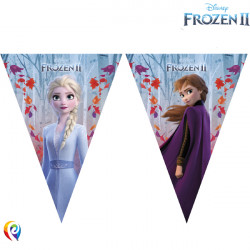 DISNEY FROZEN 2 TRIANGLE FLAG BANNER (1CT X 6 PACKS)