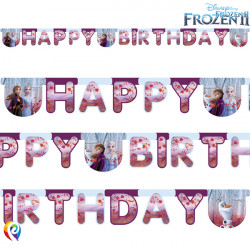 DISNEY FROZEN 2 BIRTHDAY BANNER (1CT X 6 PACKS)