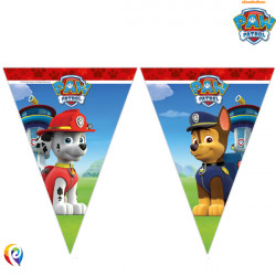 PAW PATROL TRIANGLE 9 FLAG BANNER (1CT X 6 PACKS)