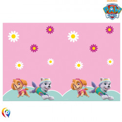 PAW PATROL SKYE & EVEREST TABLE COVER (1CT X 6 PACKS)