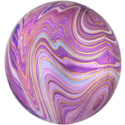 "PURPLE MARBLE ORBZ G20 PKT (15"" x 16"") (ITEM WILL BE PLACED ON BACK ORDER AND SHIPPED WHEN AVAILABLE)"