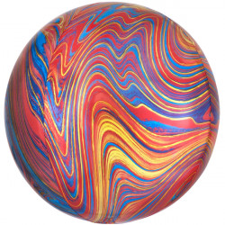 "COLORFUL MARBLE ORBZ G20 PKT (15"" x 16"") (ITEM WILL BE PLACED ON BACK ORDER AND SHIPPED WHEN AVAILABLE)"