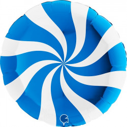 "SWIRLY WHITE - BLUE 36"" PKT (ITEM WILL BE PLACED ON BACK ORDER AND SHIPPED WHEN AVAILABLE)"