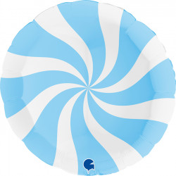 "SWIRLY WHITE - MATTE BLUE 36"" PKT (ITEM WILL BE PLACED ON BACK ORDER AND SHIPPED WHEN AVAILABLE)"