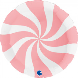 "SWIRLY WHITE - MATTE PINK 36"" PKT (ITEM WILL BE PLACED ON BACK ORDER AND SHIPPED WHEN AVAILABLE)"