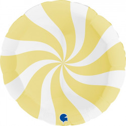 "SWIRLY WHITE - MATTE YELLOW 36"" PKT (ITEM WILL BE PLACED ON BACK ORDER AND SHIPPED WHEN AVAILABLE)"