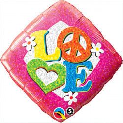 "PEACE SIGN LOVE 18"" SALE"
