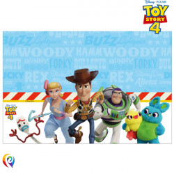 TOY STORY 4 TABLE COVER 120cmx180cm (1CT X 6 PACKS)